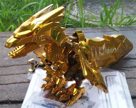 Pajangan Naga jual ryukendo dx ultimate miniatur naga emas