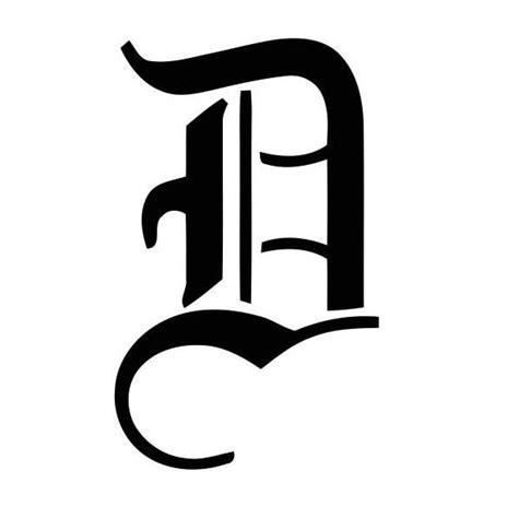 Exemple De Lettre Gothique Pochoir Alphabet Lettres Gothique Pour Tatouage Lettres Individuelles Majuscules Chiffres