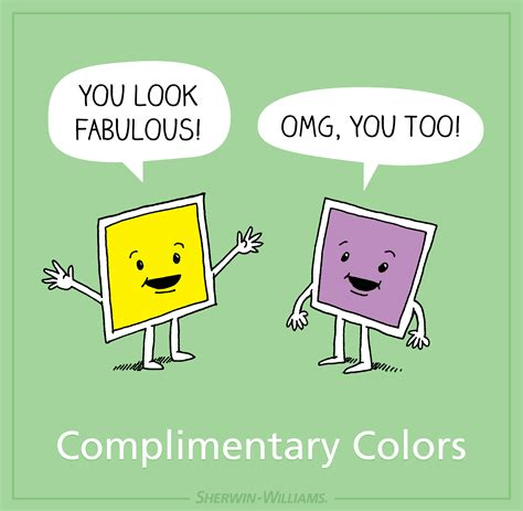 funny colors find out more about complementary shades for sherwin