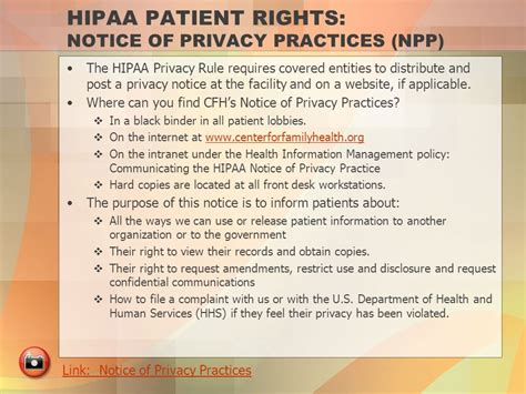 Hipaa Privacy Rights Hipaa Understanding The Privacy And Security Regulations