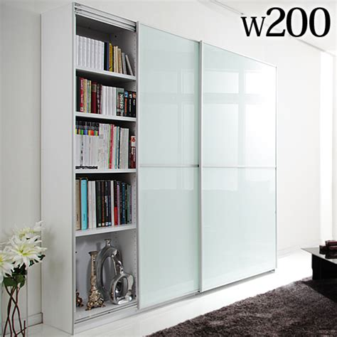 Living Room Storage Cabinets With Doors Thing Rakuten Global Market Large Sliding Doors Living Board Salone Living Width 200 Cm