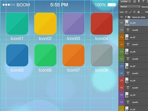 ios app layout tool 25 best ios app icon templates to create your own app