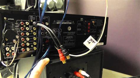 kenwood surround sound hook up wiring diagrams wiring
