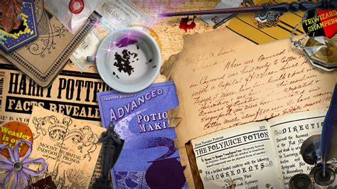 Harry Potter Desk   TRIO REPRESENTED   Pinterest   Harry potter, Harry potter wallpaper and Books