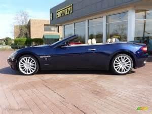 Maserati Grancabrio Blue Oceano Blue Metallic 2012 Maserati Granturismo
