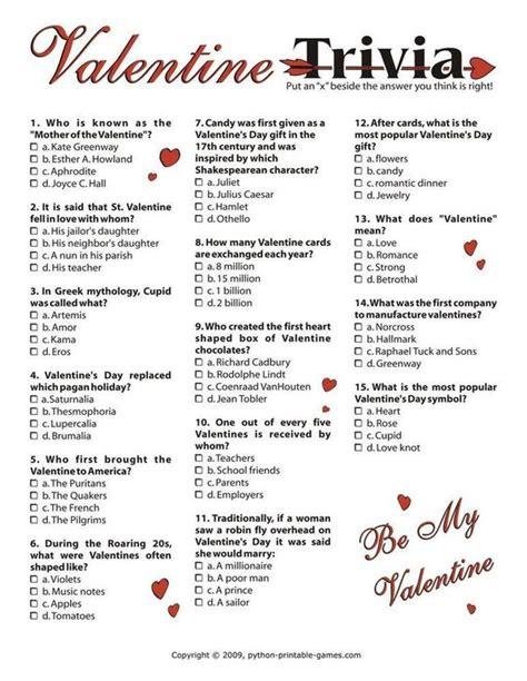 valentines day trivia s day trivia i 3 95 s day
