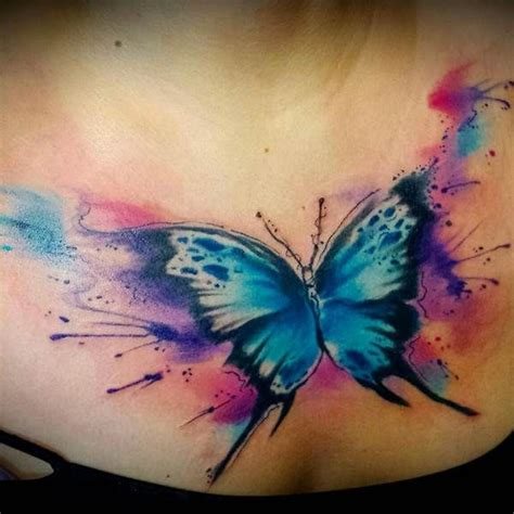 watercolor tattoo new hshire 25 best ideas about watercolor butterfly on