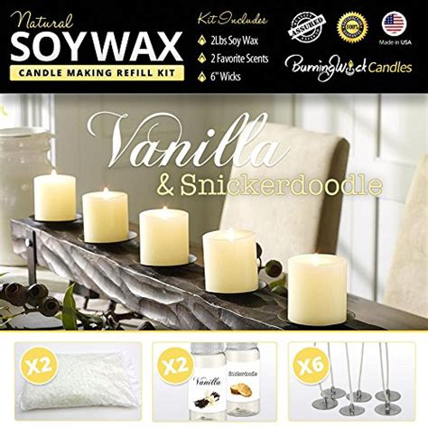 Soy Candle Supplies Soy Candle Supplies Vanilla Snickerdoodle Scents