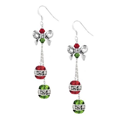 How To Make Magnetic Jewelry - holiday jingle bell earring kit