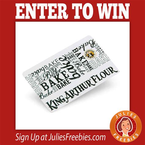 Sell Dell Promo Gift Card - win a king arthur flour gift card julie s freebies