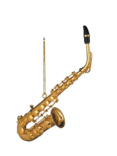 buy gold alto saxophone christmas ornament music gift