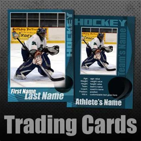 Hockey Trading Card Template Photoshop by Arc4studio Studio Design Gallery Best Design