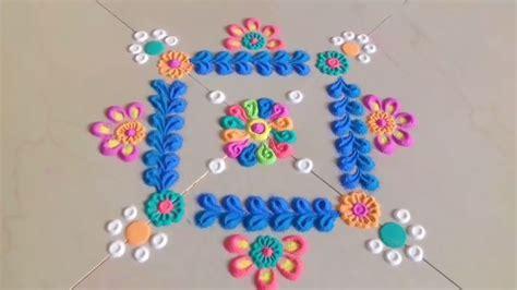 rangoli innovative themes simple and easy innovative rangoli designs step by step