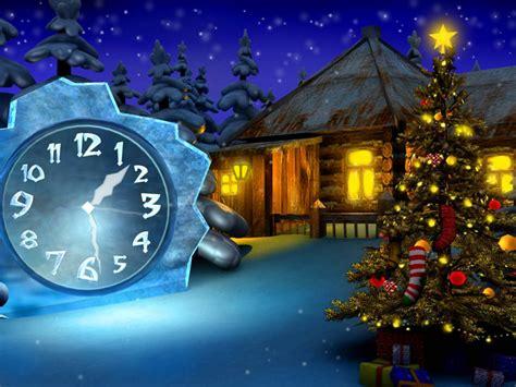 christmas clock screensaver free download christmas 7art cosy christmas clock screensaver feel the warm