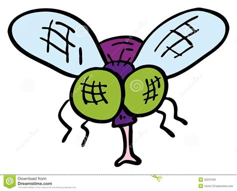 doodle fly doodle fly royalty free stock photo image 20237505