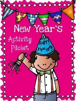 new year 2016 and activities this packet includes several new year s activities in a