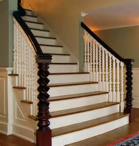 Antique restoration traditional staircase new york