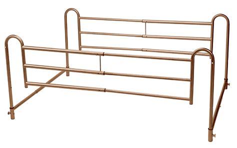 medical bed rails drive medical home bed style adjustable length bed rails