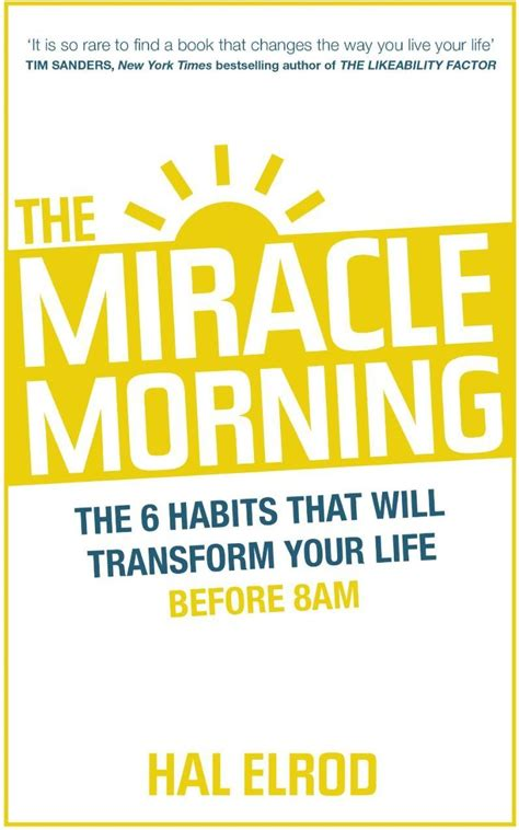 Pdf Miracle Morning Journal Hal Elrod by Hal Elrod S Book The Miracle Morning Reflection