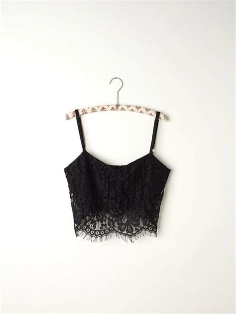 Turtle Neck Hnm Lace Crop Top black white lace fishnet cutouts cropped slip top camisole