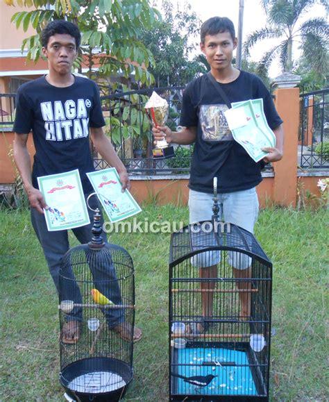 Kaos Burung Kicau Bird Lb 17a andre dan yongka dedy berbagi gelar di sakti bird om kicau