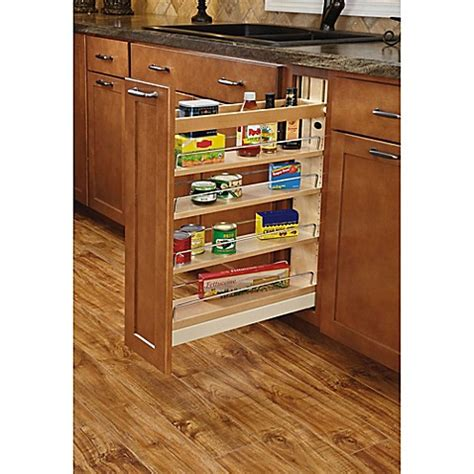 rev a shelf base cabinet pullout rev a shelf 174 base cabinet pullout organizer bed bath