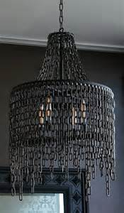 Chains For Chandeliers Black Chain Chandelier Black