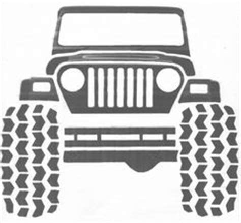jeep front drawing art pics clip art and jeeps on pinterest