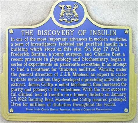 the nobel maze from the discovery of insulin to that of stress books sandwalk nobel laureates frederick banting and j j r