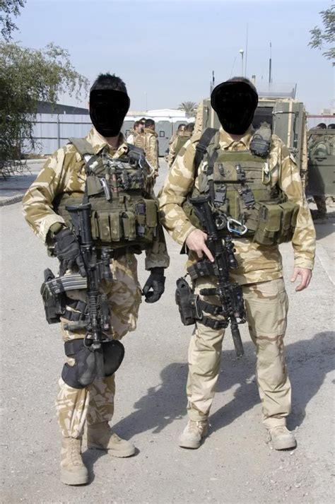 British Task Force Black British Special Forces