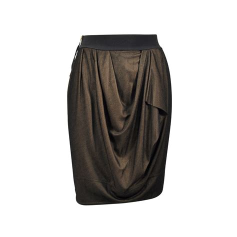 draped tulip skirt second hand marc by marc jacobs draped tulip skirt the