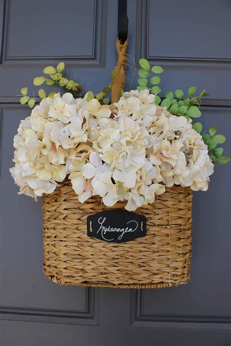 decorative ornaments for the home diy floral hanging basket domestically speaking