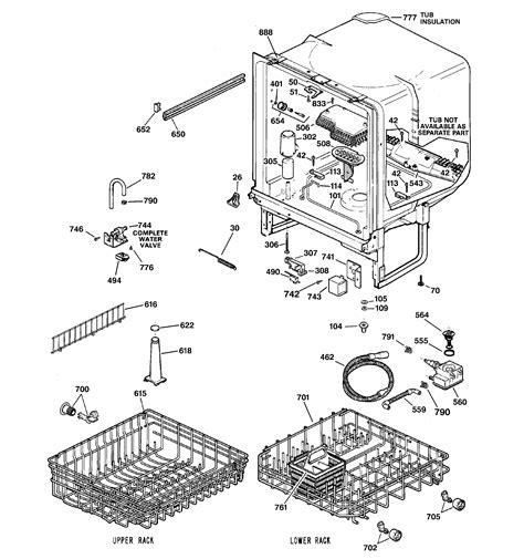 hotpoint dishwasher parts diagram hotpoint dishwasher parts model hda3400g02bb