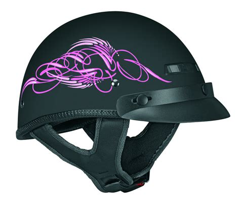 girls motocross helmets 51 06 vega womens xts scroll half helmet 2013 195995