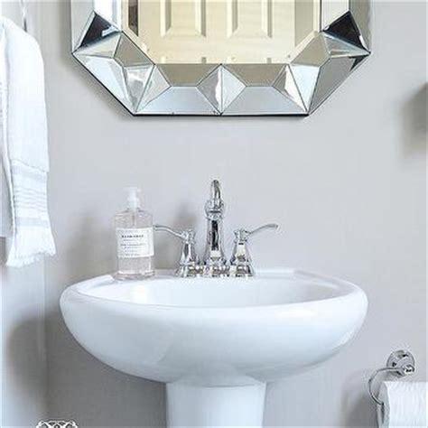 powder room pedestal sink pedestal sink design ideas