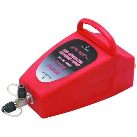 Is There Air In A Vacuum Pneumatic 4 2cfm Air Operated Vacuum A C Air