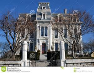 second empire style house royalty free stock image image