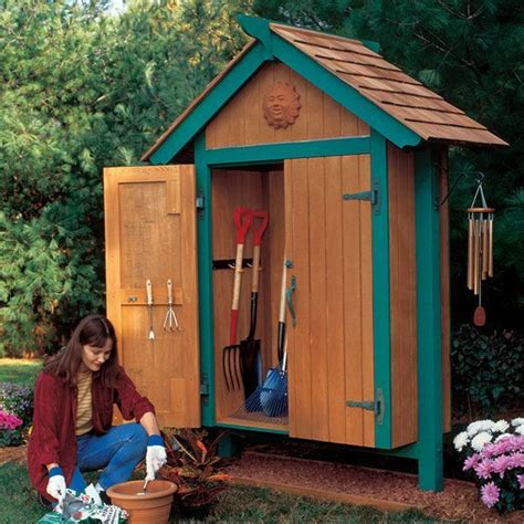 Mini Garden Shed by Mini Garden Shed Woodworking Plan Outdoors