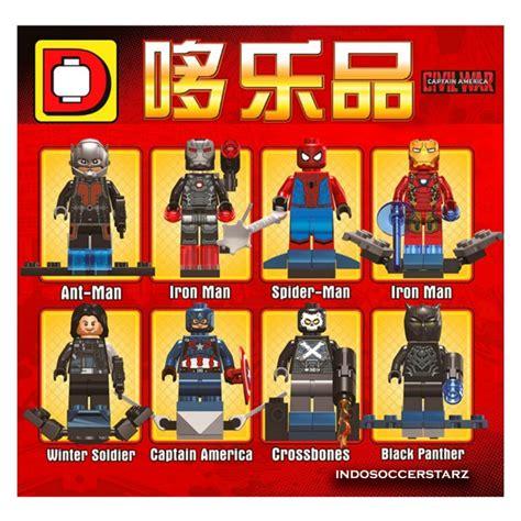 Lego Kw Bootleg Pogo Xinh Dlp Decool Sy Tanpa Dus 66 mainan lego iron dhian toys