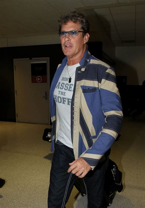 Style Icon Dont Hassel The Hoff by David Hasselhoff At Lax Pictures Zimbio