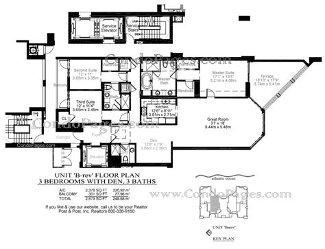 las olas beach club floor plans las olas beach club floorplans quot b rev quot