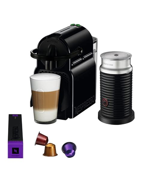 nespresso by delonghi en80bae inissia capsule coffee maker black myer