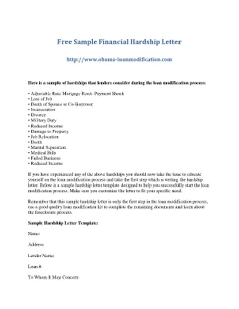 Hardship Letter For Overpayment hardship letter sles fill printable fillable