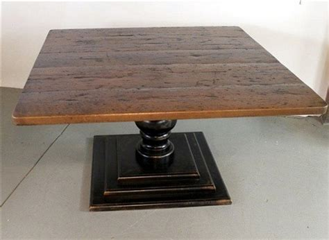 square pedestal kitchen table square dining table from reclaimed barn wood country dining tables boston by