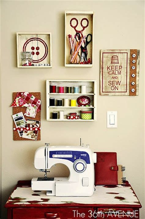 Sewing Room Decor Nancy S Arts Crafts Sewing Rooms From Pinterest