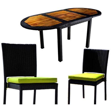 meuble de jardin teck r 233 sine tress 233 e salon de jardin 8