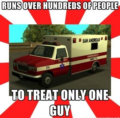 Ambulance Driver Meme - r rage quot this video gives me such joy quot 12 in response