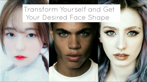 most desired face shape for models desired face shape youtube