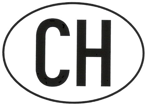 Ch Aufkleber Tcs by Xara Ch Magnet Landeskennzeichen Hoheitszeichen