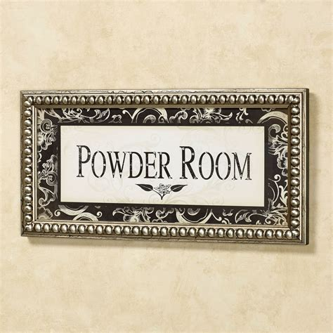powder room framed wall